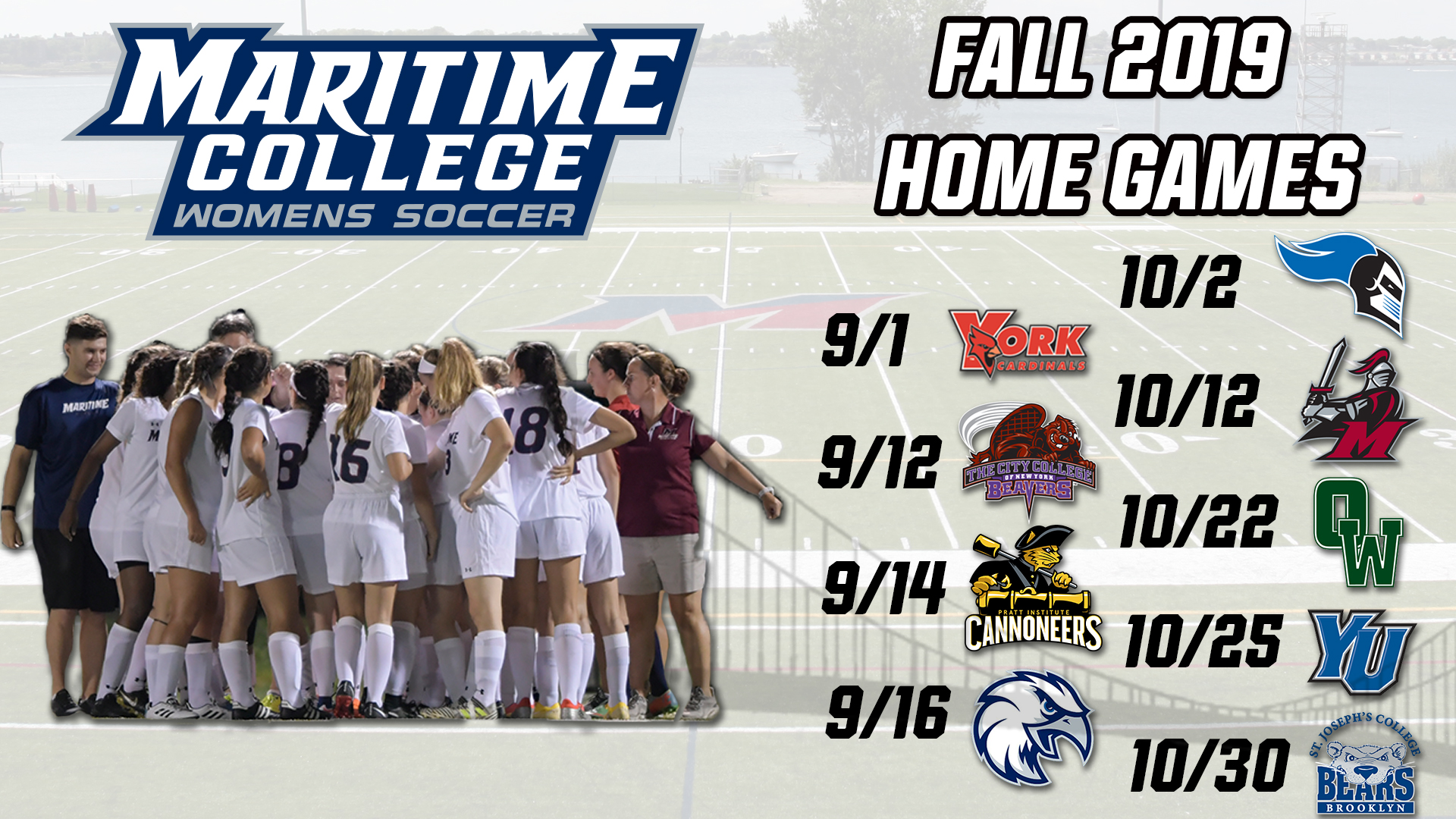 b3b6a477 Women's Soccer Announces 2019 Schedule - Maritime College Athletics